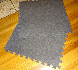 These come 2' x 2' squares. You can combine them to make a square or rectangle. Use one, or use all six - whatever works.